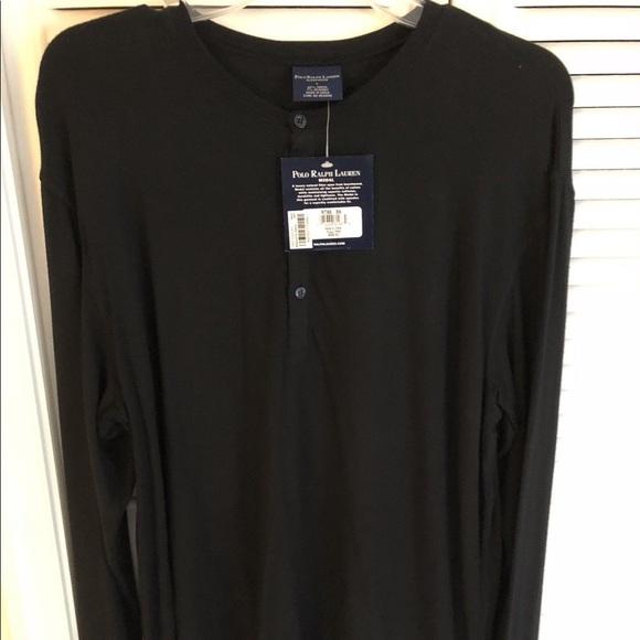 2ce12024543a4 Long-sleeve Ralph Lauren sleepwear Henley top